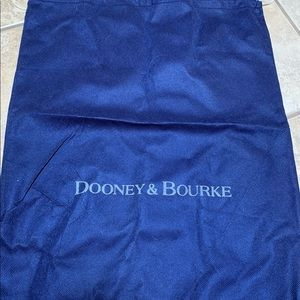 Dooney and Bourke dust bag for large purse